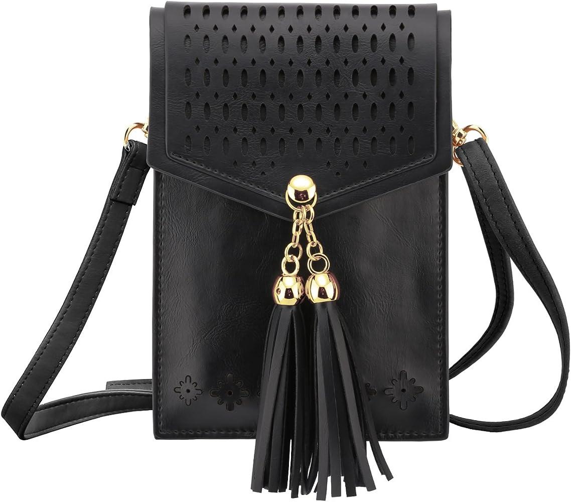 Women Fashion Purse Coin Cell Phone Bag Mini Crossbody Adjustable Shoulder Bag