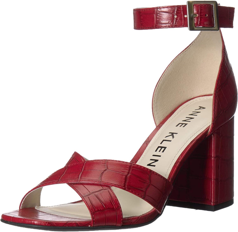 Anne Luxury goods Klein Women's Heeled Attention brand Sandals Mardelle