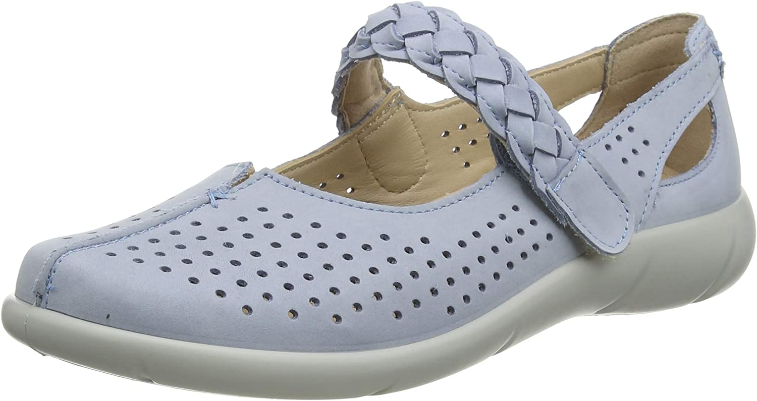 Hotter Womens Quake Wide Fit Mary Jane Flat