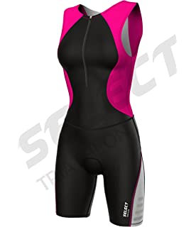 a12b8700ee6 Select Womens Triathlon Suit Cycling Running Compression Tri Suit Padded