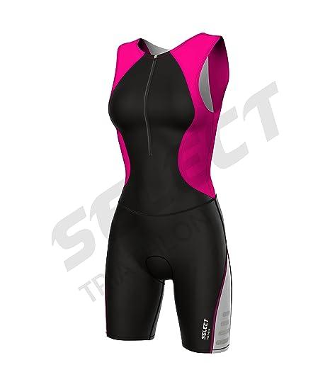 Select - Traje de triatlón para mujer, acolchado, para ciclismo ...