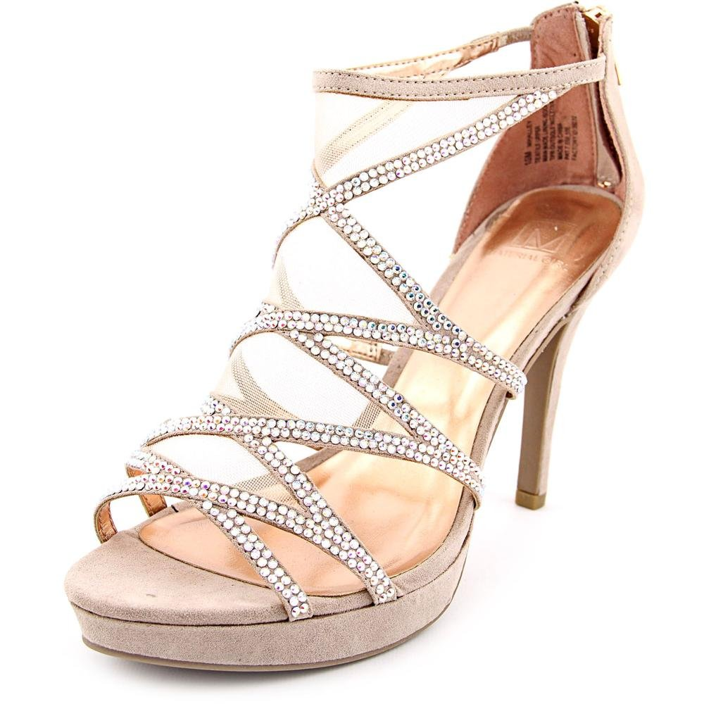 Material Girl Women's Halley Platform Sandal Blush Size 5.5