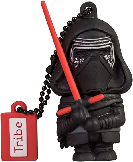 Llave USB 16 GB Kylo Ren - Memoria Flash Drive 2.0 Original Star ...