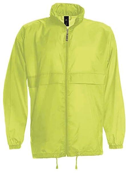 B y C Sirocco plegable diseño de león y bicicleta para hombre impermeable chaqueta impermeable y
