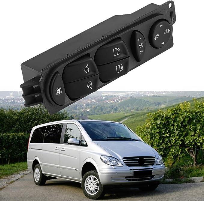 Interrupteur de fen/être Interrupteur principal de commande de l/ève-vitre /électrique for Mercedes-Benz Viano Vito W639 A6395451313