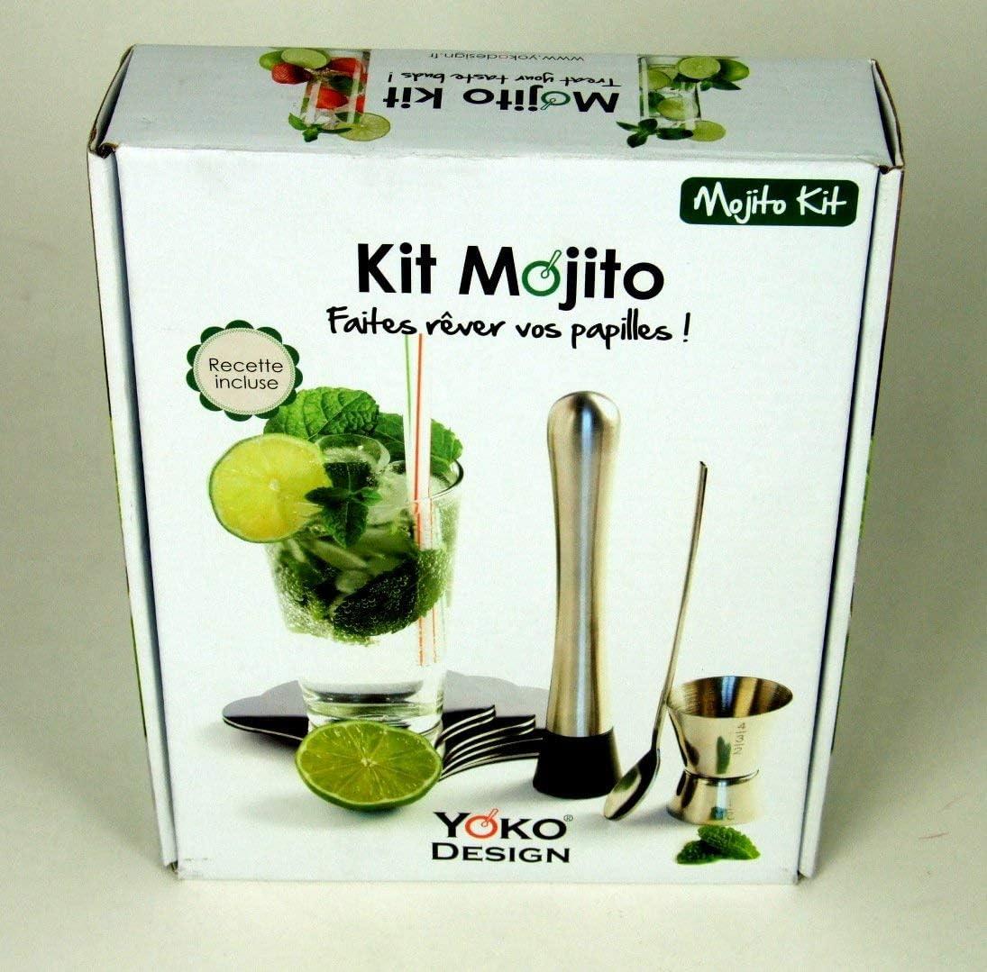 Compra YOKO DESIGN 1238 - Kit para Preparar mojitos (Acero ...