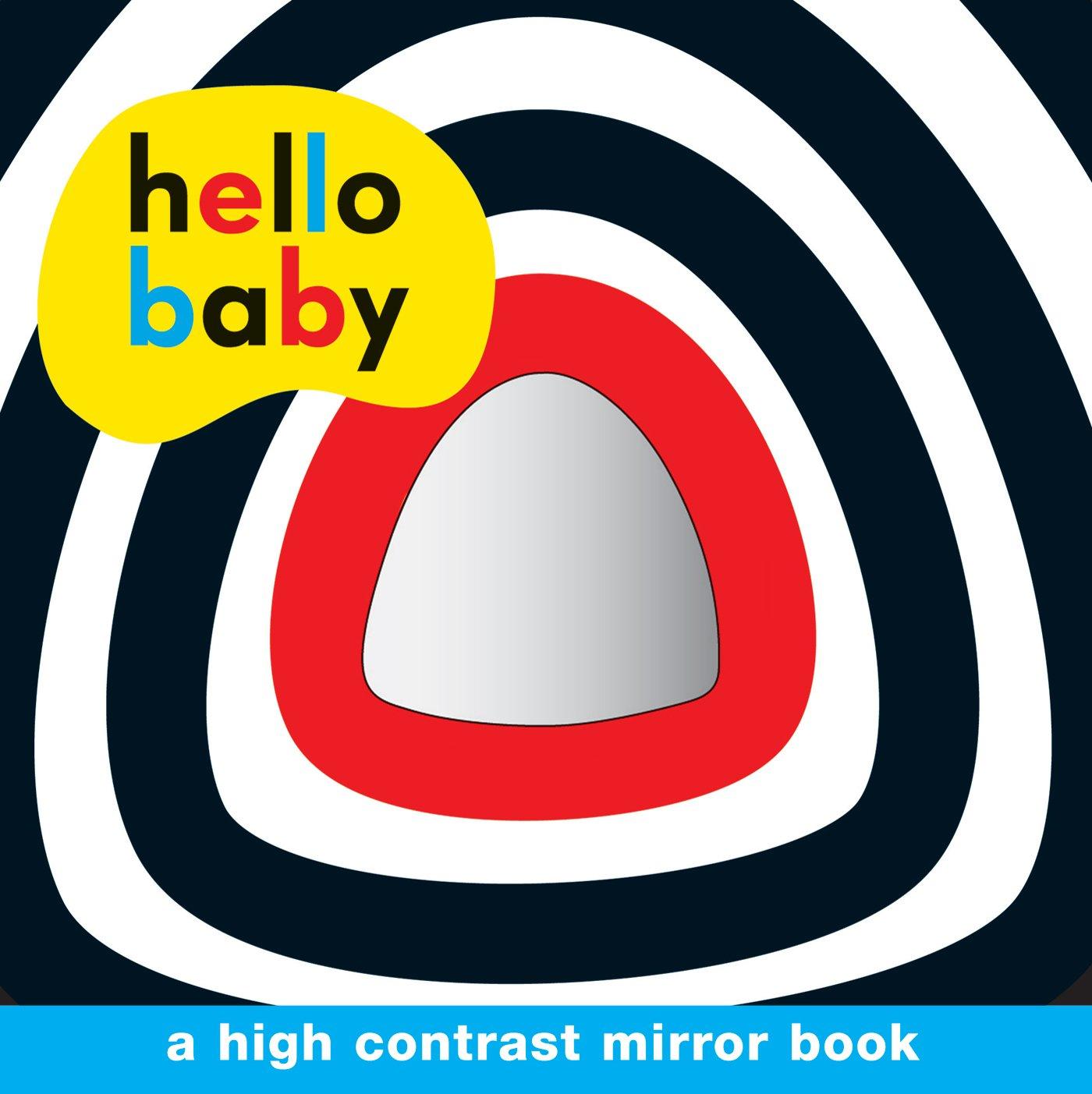 Hello Baby Mirror Board Contrast