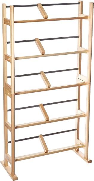 Atlantic Multimedia Storage Rack Wood//Metal