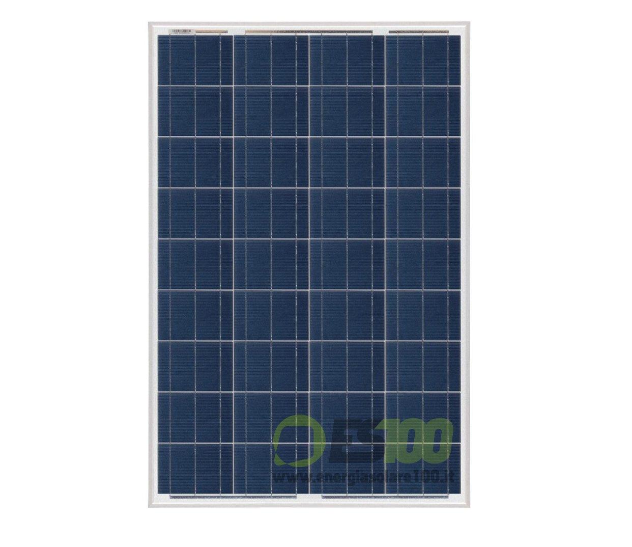 Solarpanel Solarmodul Polykristallin 100W 12V Serie NX