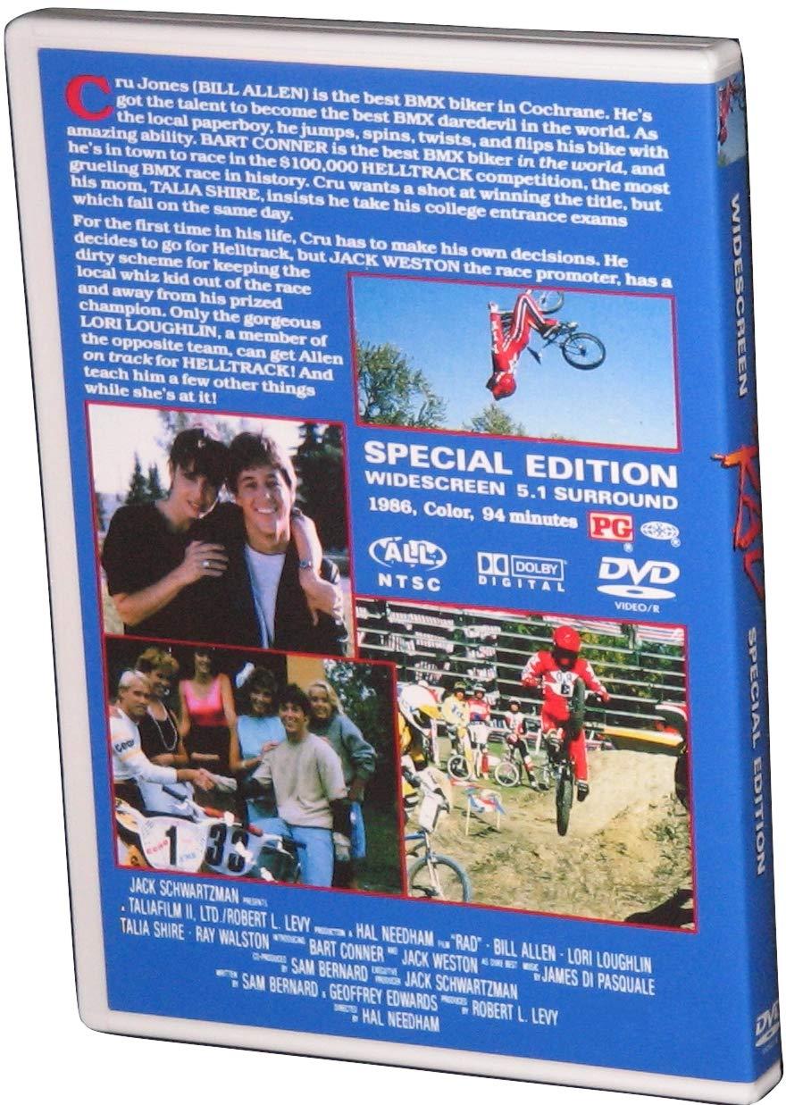 Amazon.com: RAD (1986) BMX Racing Movie - Special Edition DVD: Electronics