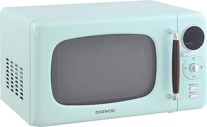 Daewoo KOR-669M - Microondas (Encimera, Solo microondas, Botones ...