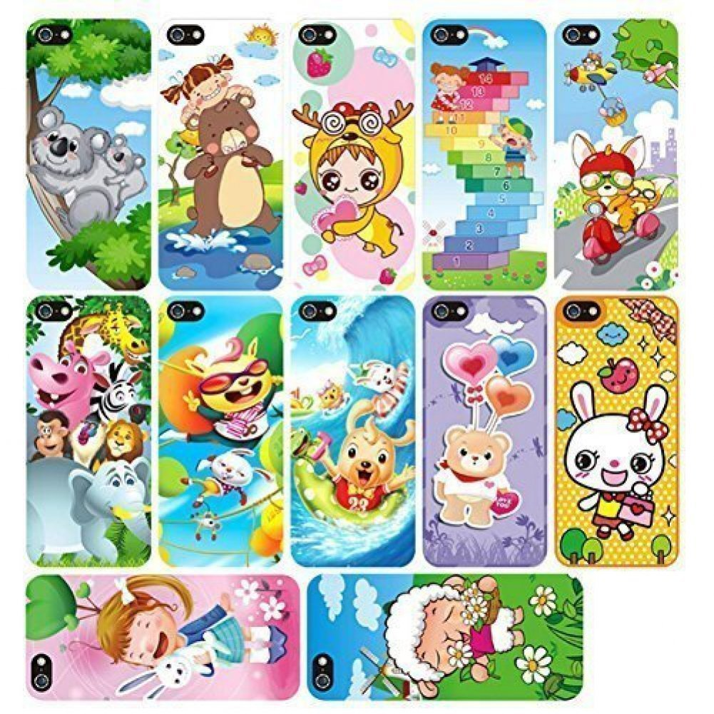 YOYOSTORE YPhone Toy Play Mobile Cell Phone Music Learning for Child Toddle Baby Kid Black