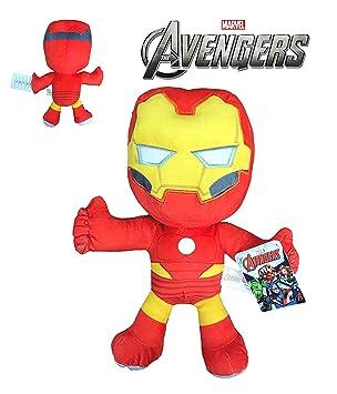 Vengadores Peluche Iron Man América Avengers Marvel Velboa ...