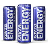 24 X SCATOLE 250 ML kavza Energy Drink 0,25L Energie Power bevanda 24er Pack Dose pfand libero