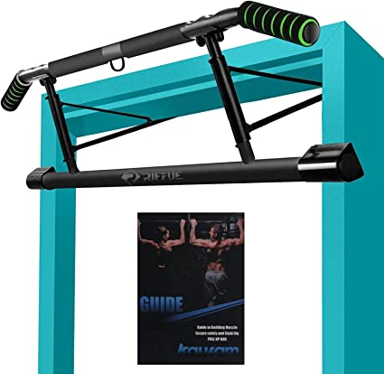 Pull-up bar 62-105 cm Training bar for Home Gym CINUE Pull-up bar for Door Adjustable Length with Hand Padding