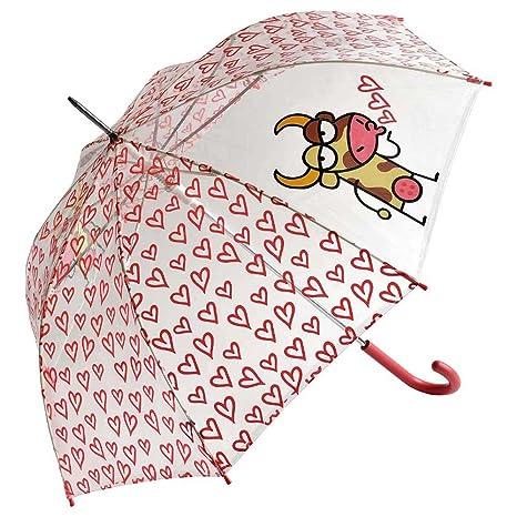 Paraguas kukuxumusu cúpula corazones