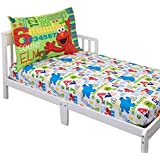 Sesame Street Elmo & Friends Toddler Sheet Set