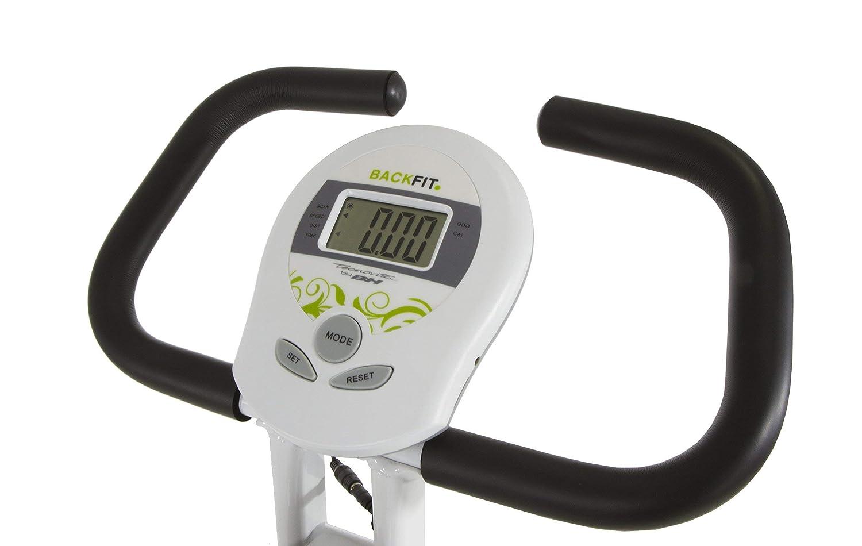 Tecnovita by BH Back Fit - Bicicleta estática plegable, Unisex adulto, color Blanco / Verde, talla Única (Reacondicionado Certificado): Amazon.es: Deportes ...