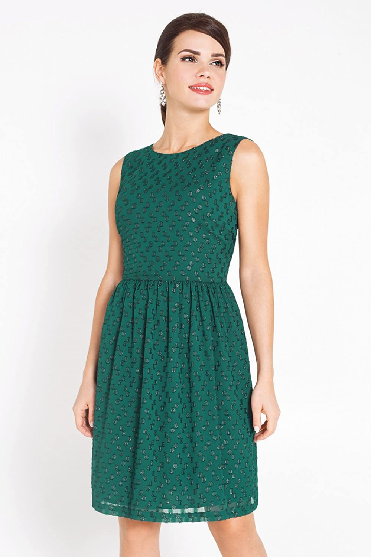 bestia Damen Kleid Damenkleid Modell Anchorage Gr/ün