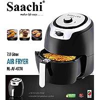 Saachi 7-Litres Air Fryer NL-AF-4774, Black