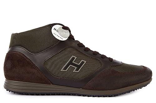 hogan scarpe uomo marrone