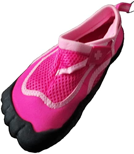 Grip Socks Water Shoe Outdoor Shoe Aqua Shoe Lifeguard Little Girls Pink Activity Shoe