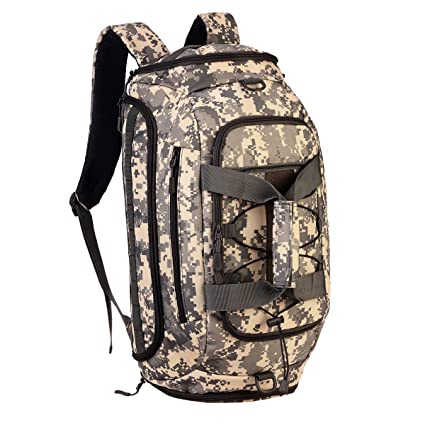 a7d572c3170d Protector Plus 3-Ways Tactical Military Nylon Men Holdall Weekend Travel  Duffel Bag Backpack Messenger Shoulder Bags Convertible Traveling Hiking ...