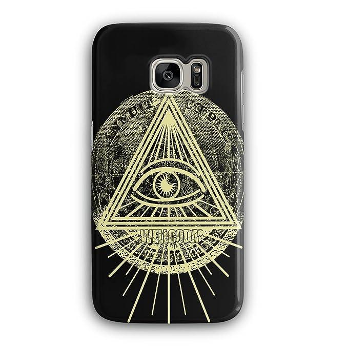 Amazon com: Triangle Triangle Eye 3D Samsung Galaxy S7 Case