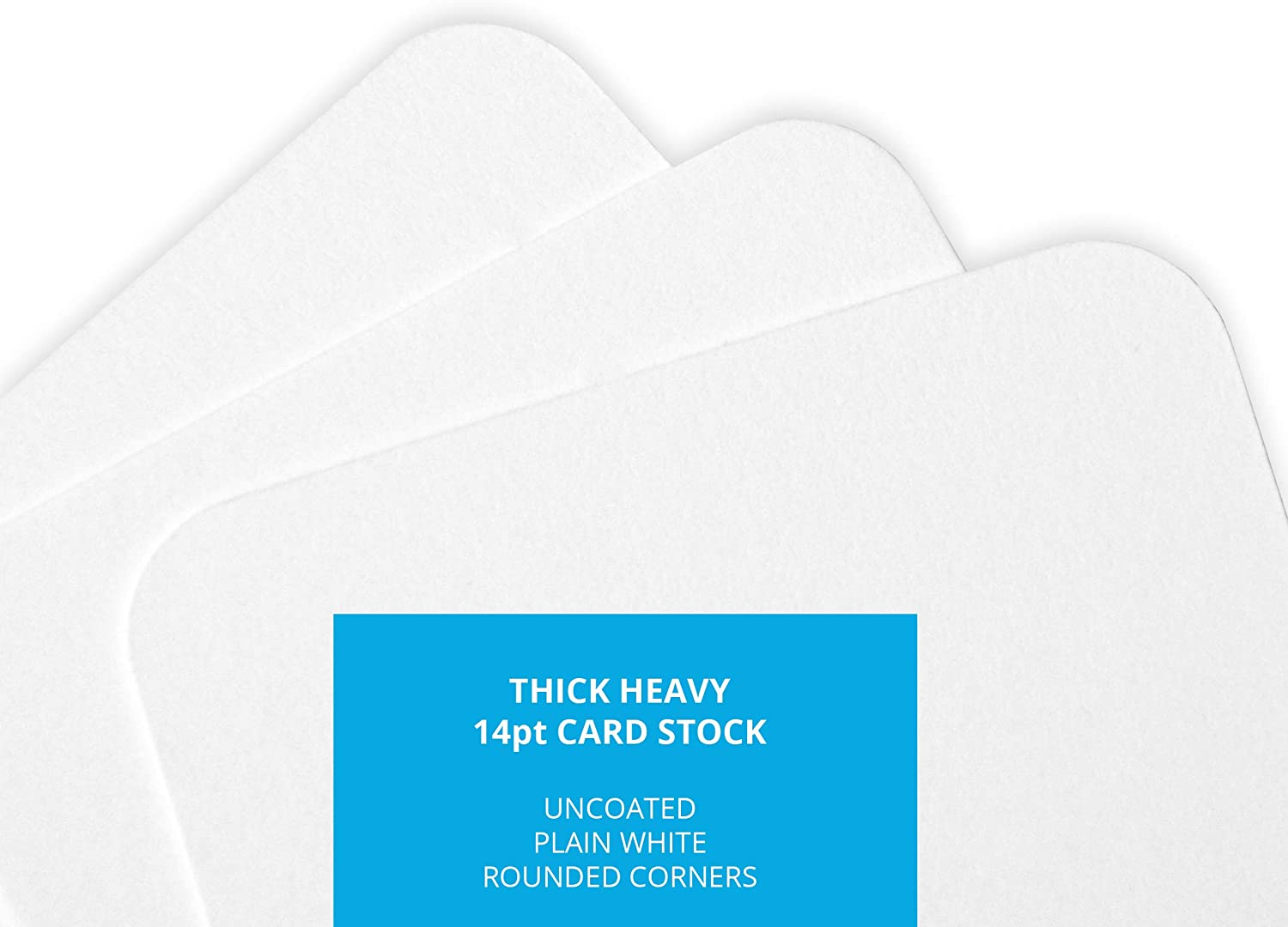 50 Pack Mini Message Index Word Cards Home Advantage Blank Business Cards