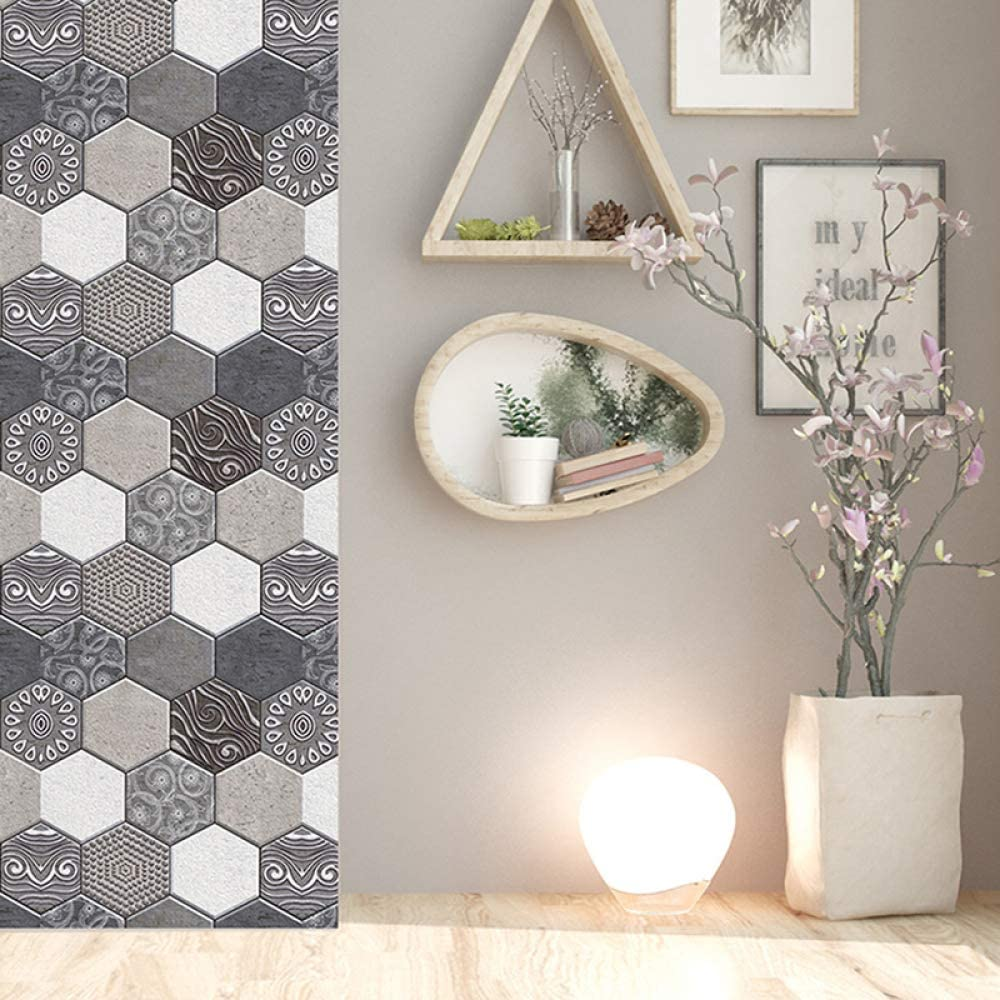 LZYMLG Paneles de pared de pvc 3d autoadhesivos para azulejos de ...