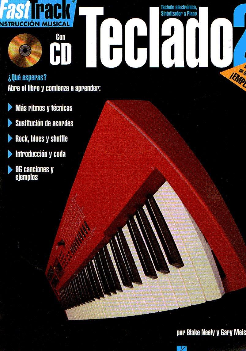 FAST TRACK - Metodo para Teclado 2º Book+Audio online: Amazon ...