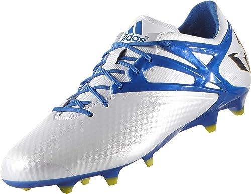 5af5127b20 adidas Messi 15.1 FG AG Junior Soccer Cleats (White