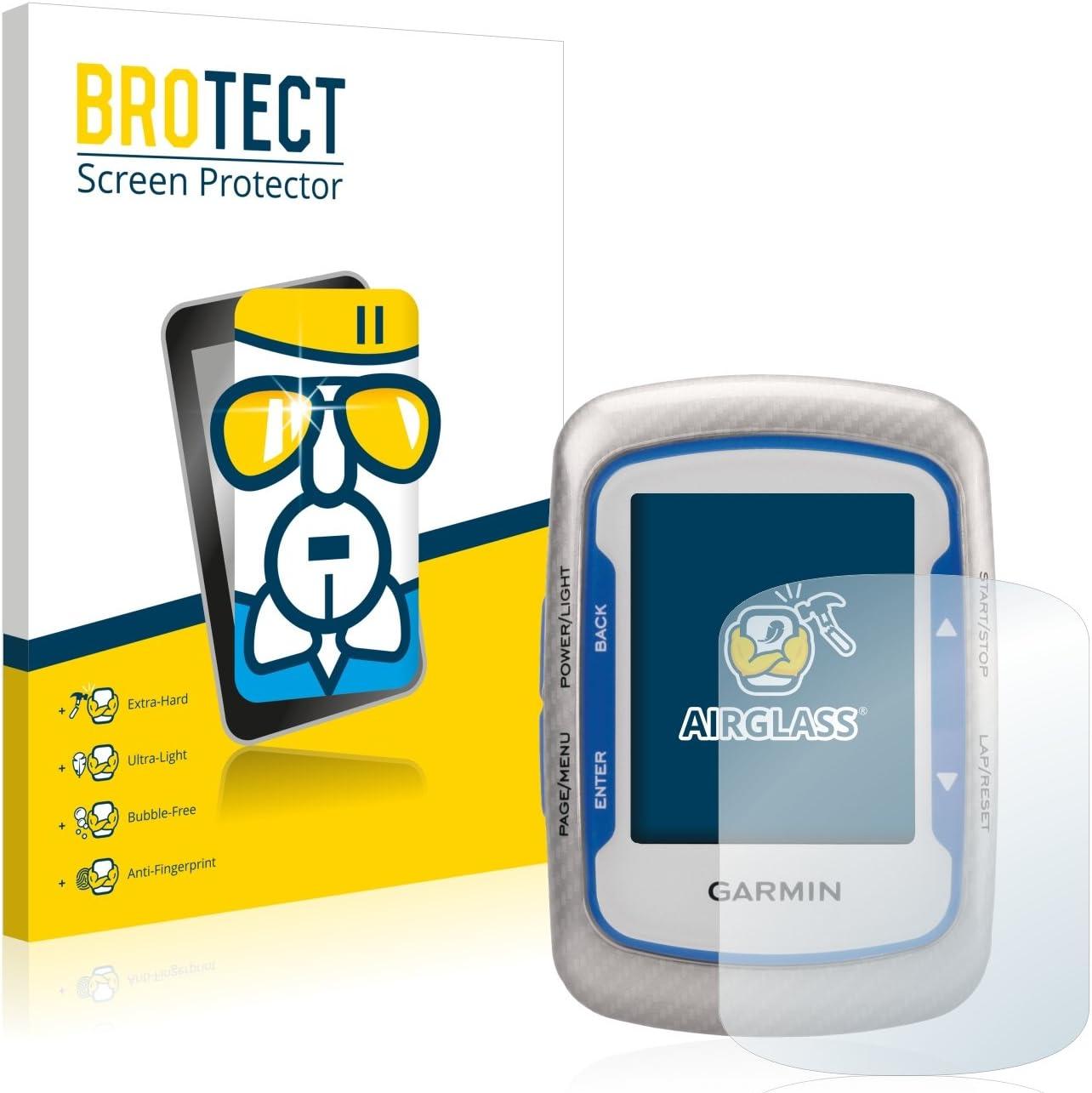 BROTECT Protector Pantalla Cristal Compatible con Garmin Edge 500 Protector Pantalla Vidrio Dureza 9H AirGlass: Amazon.es: Electrónica