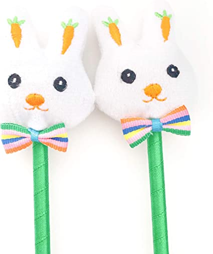 Amazon.com: Bolígrafos de conejo para fiesta de Pascua ...