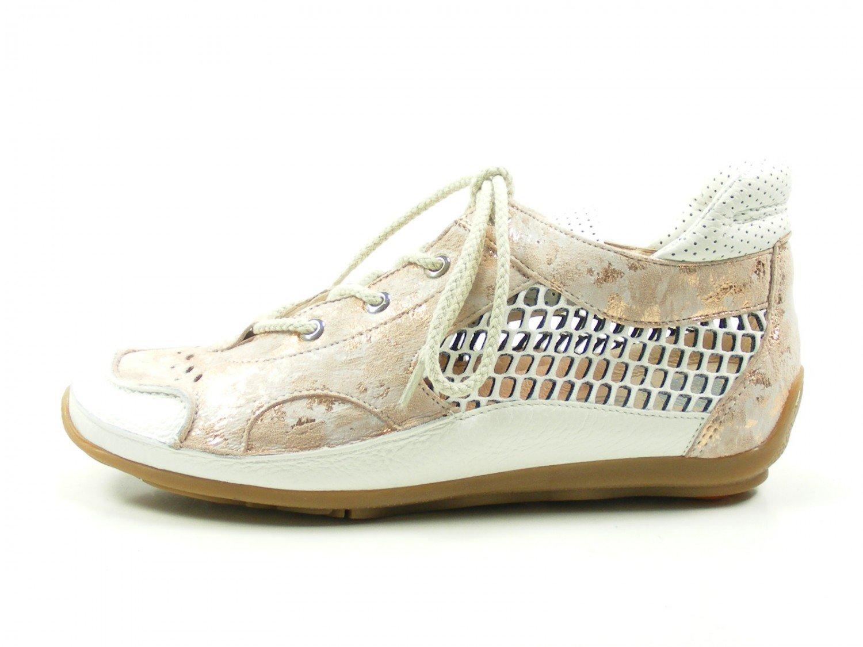 Softwaves 7-01-03A Zapatillas de Cuero Para Mujer 39 EU|Rosa