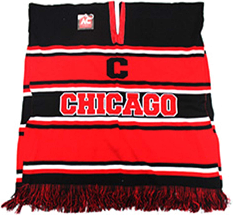 Black Eagles Chicago Basketball Team Winter Knit Poncho