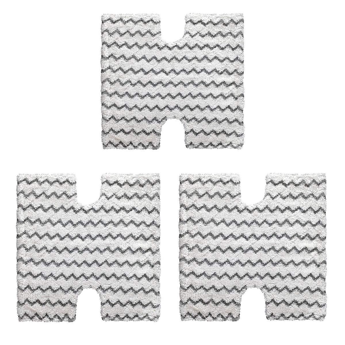 Adouiry Replace Shark Steam Cleaner Mop Pads for Shark Lift-Away Genius Steam Pocket Mop S3973D S6002 S5003D S6001 S6003 S5001 S5002 S3973WM (3 Pack)