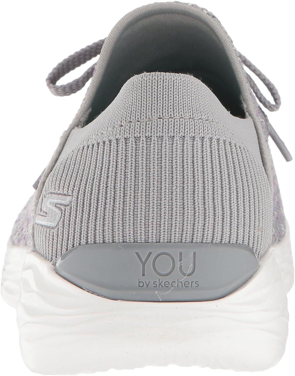 Skechers Women's You-15807 Sneaker Grey
