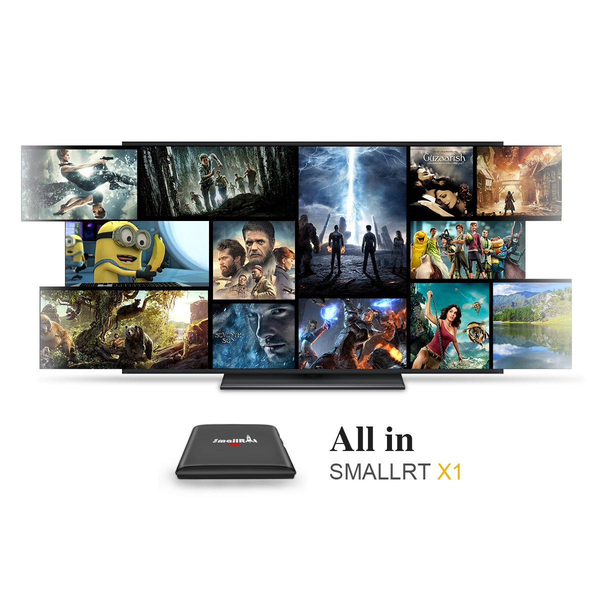 1gb ram android emulator - Amazon Com Tv Box Smallrt X1 Android 6 0 Marshmallow Setup Box With Built In Rockchip Quad Core 1gb Ram 8gb Rom Wifi Perfect For Home Entertainment