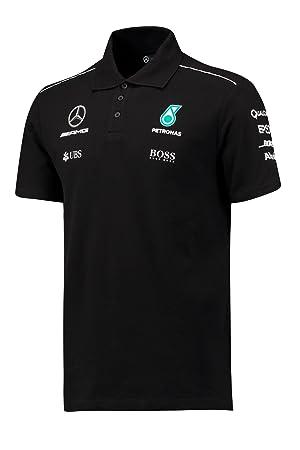 Polo de Hugo Boss para hombre, con diseño de equipo Mercedes-AMG y ...