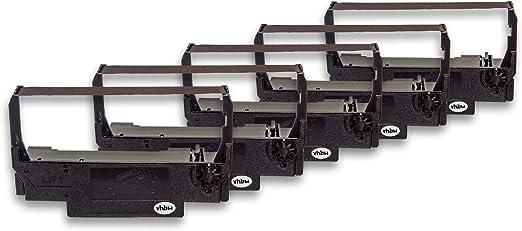 ERC-30 vhbw 3x nastro in nylon per stampante ad aghi Epson TM-U210D ERC-34 TM-U220D sostituisce ERC-38 B//R TM-U220B TM-U220A