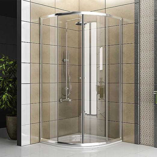 Mampara Cuadrante/Real cabina de ducha de cristal/Ducha/Mampara ...