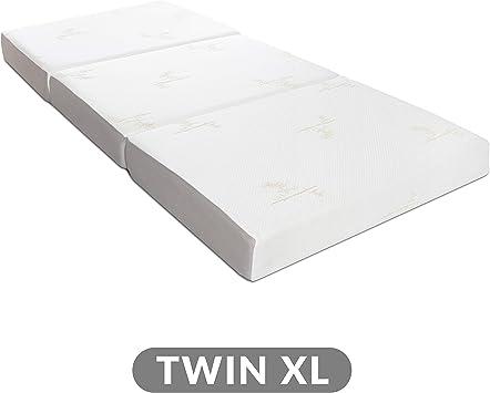 Amazon Com Milliard Tri Folding Memory Foam Mattress With