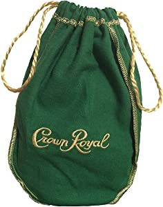Crown Royal Bag with Drawstring | Green - Apple