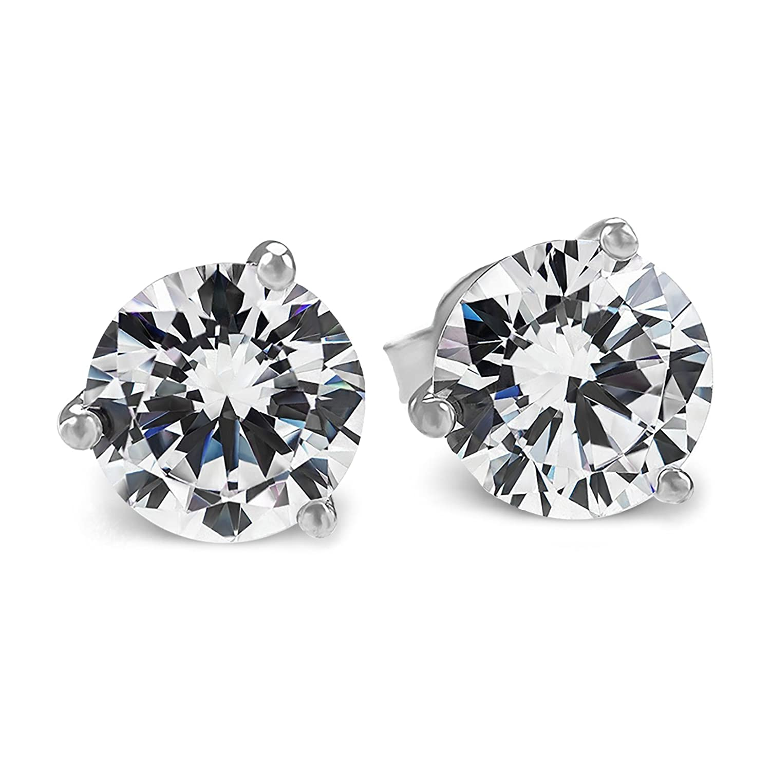 Amazon PAVOI Cubic Zirconia Earrings AAAAA Grade CZ Diamond