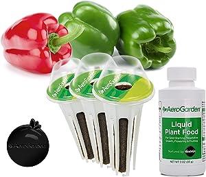 AeroGarden Sweet Bell Peppers Seed Pod Kit