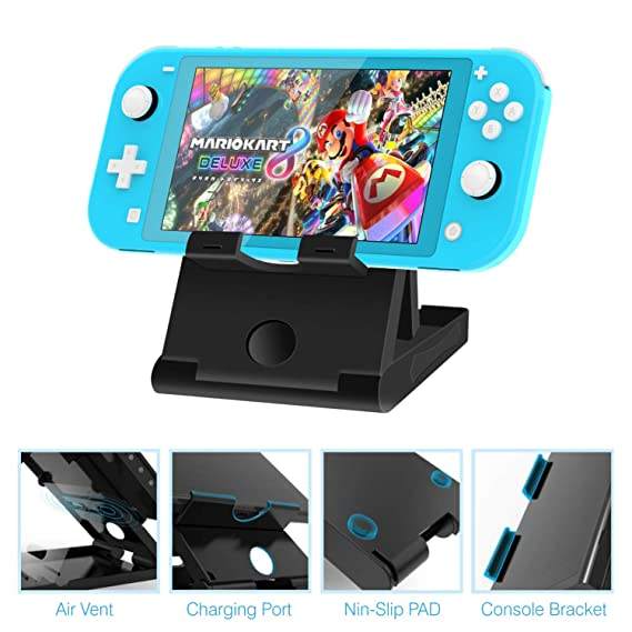 Amazon.com: HEYSTOP Case for Nintendo Switch Lite, 6 in 1 ...
