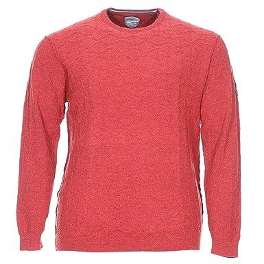 d9e3f4110f2f RAGMAN Soldes Pulls et Sweats Grande Taille Rouge Laine