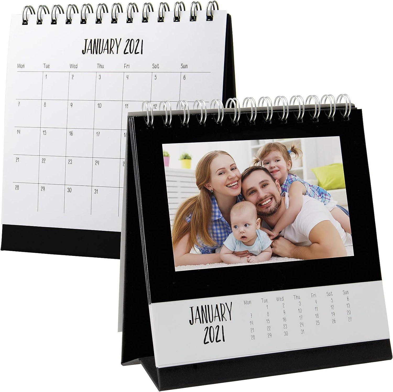 2021 Monthly Desk Photo Calendar