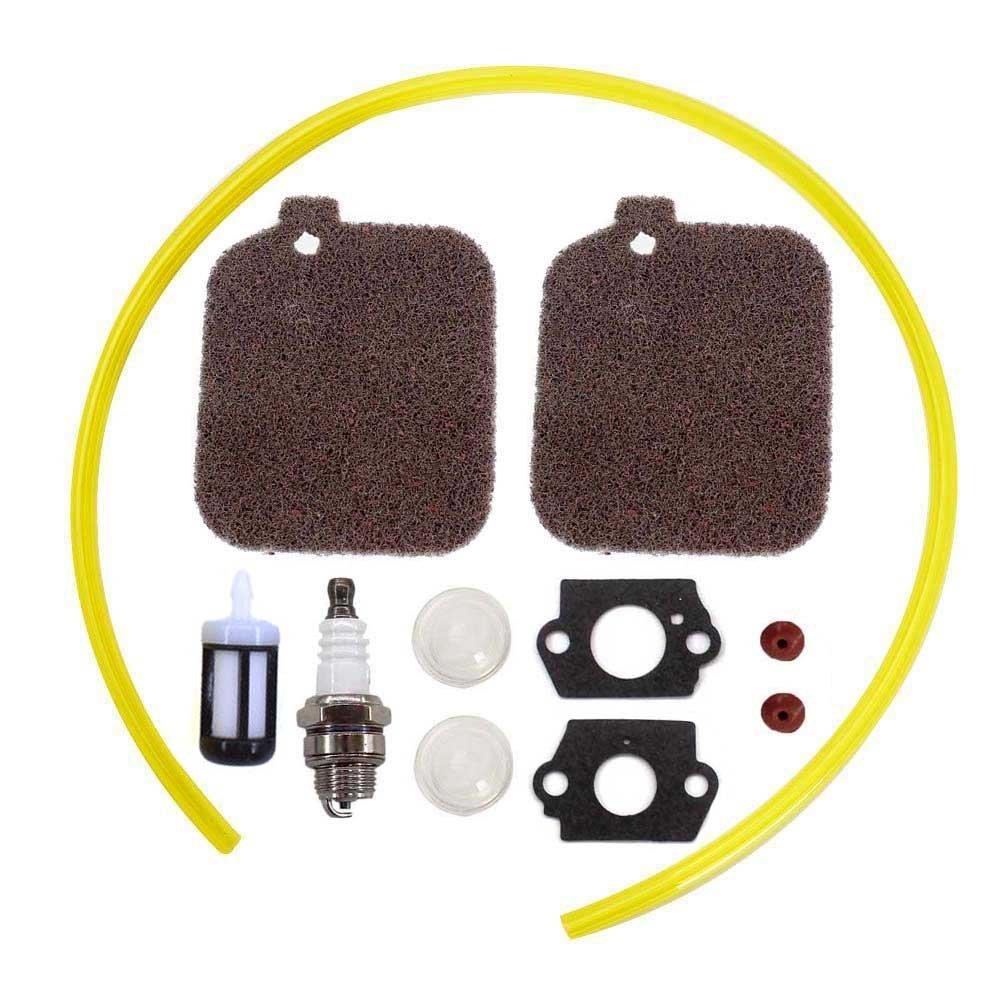 AISEN 2 Luftfilter Kit Zü ndkerze Benzinfilter fü r Stihl Blower BG45 BG46 BG55 BG65 BG85 SH55 Ersetzt 42291201800